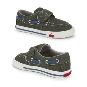 See Kai Run ELIAS Olive Denim Loafers